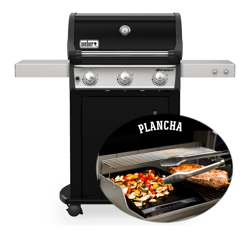 Gasbarbecue Spirit E-315 met plancha View