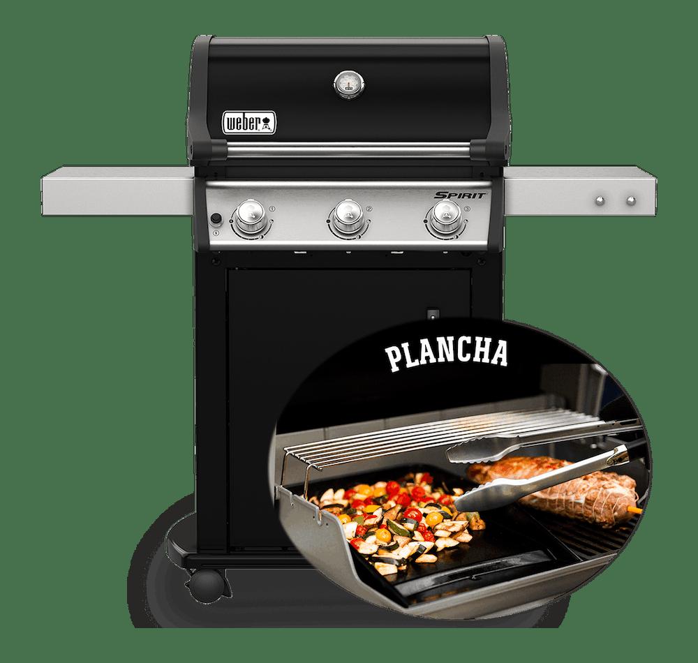 Barbecue à gaz Spirit E-315 avec plancha View
