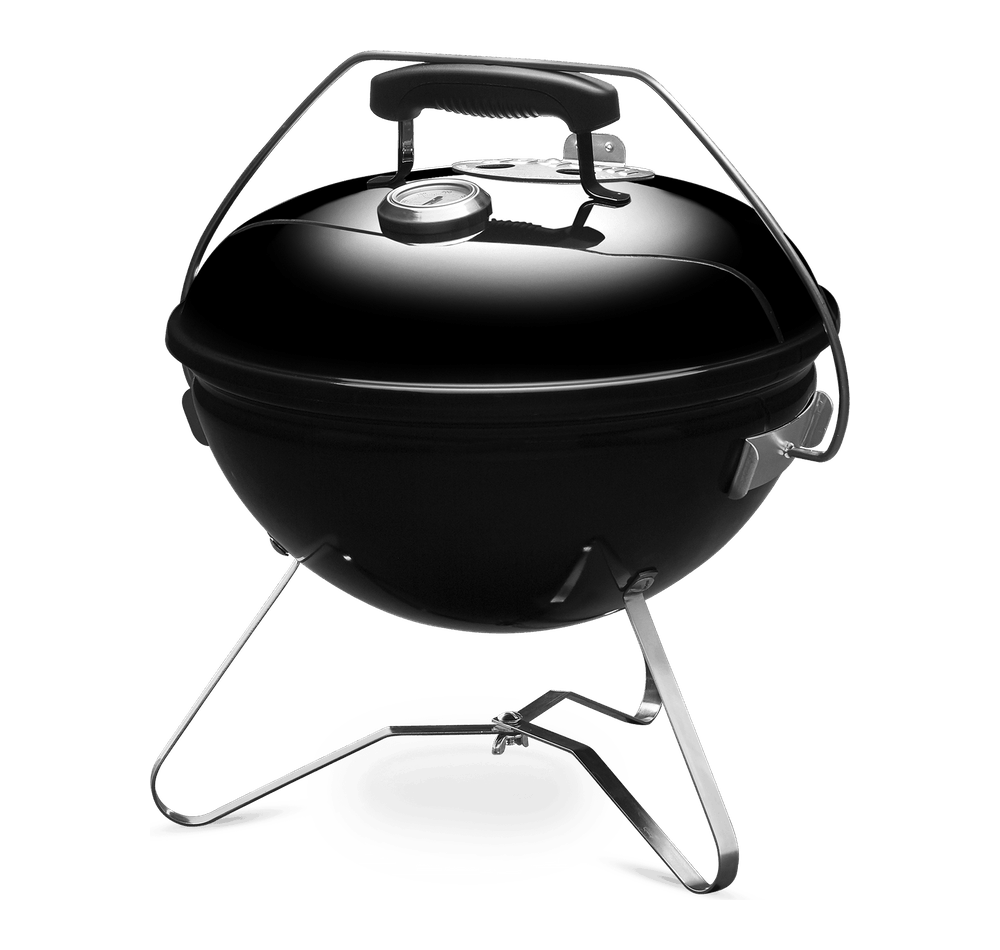 Smokey Joe Premium 37cm with Thermometer View