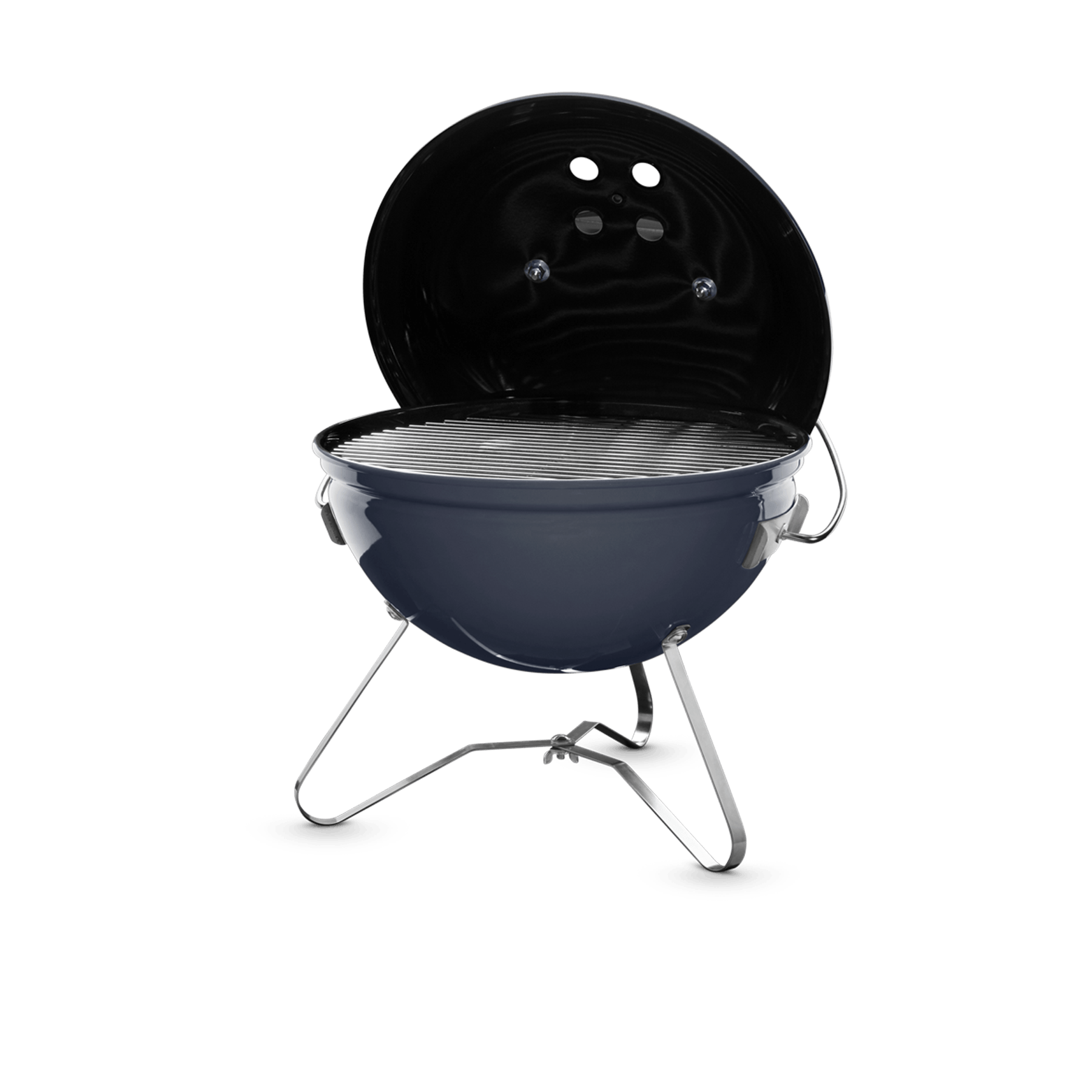 Free Cook Book Weber® Smokey Joe™ Premium Slate Charcoal BBQ 1126804