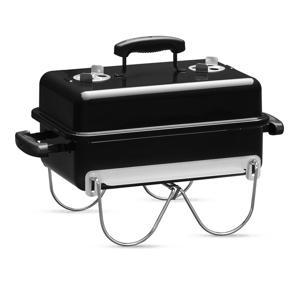 Go-Anywhere Charcoal Grill View