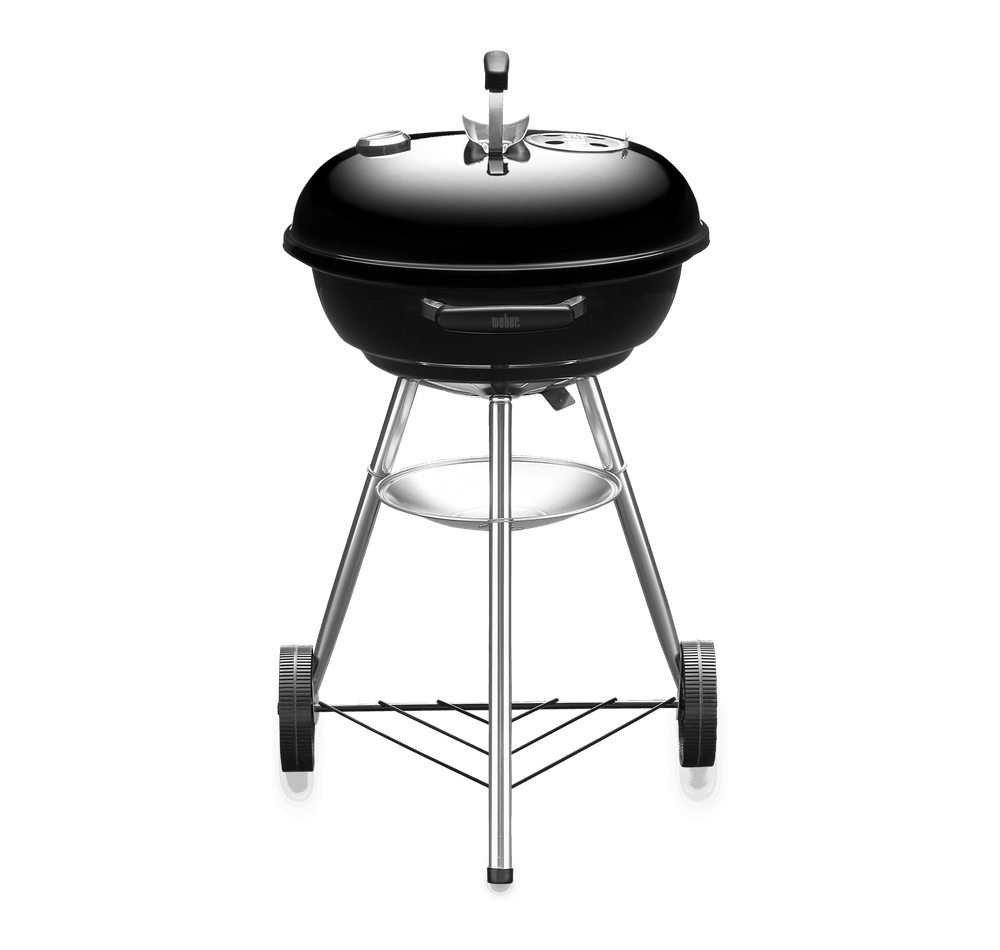 Compact Kettle Charcoal Grill 47cm with Thermometer View