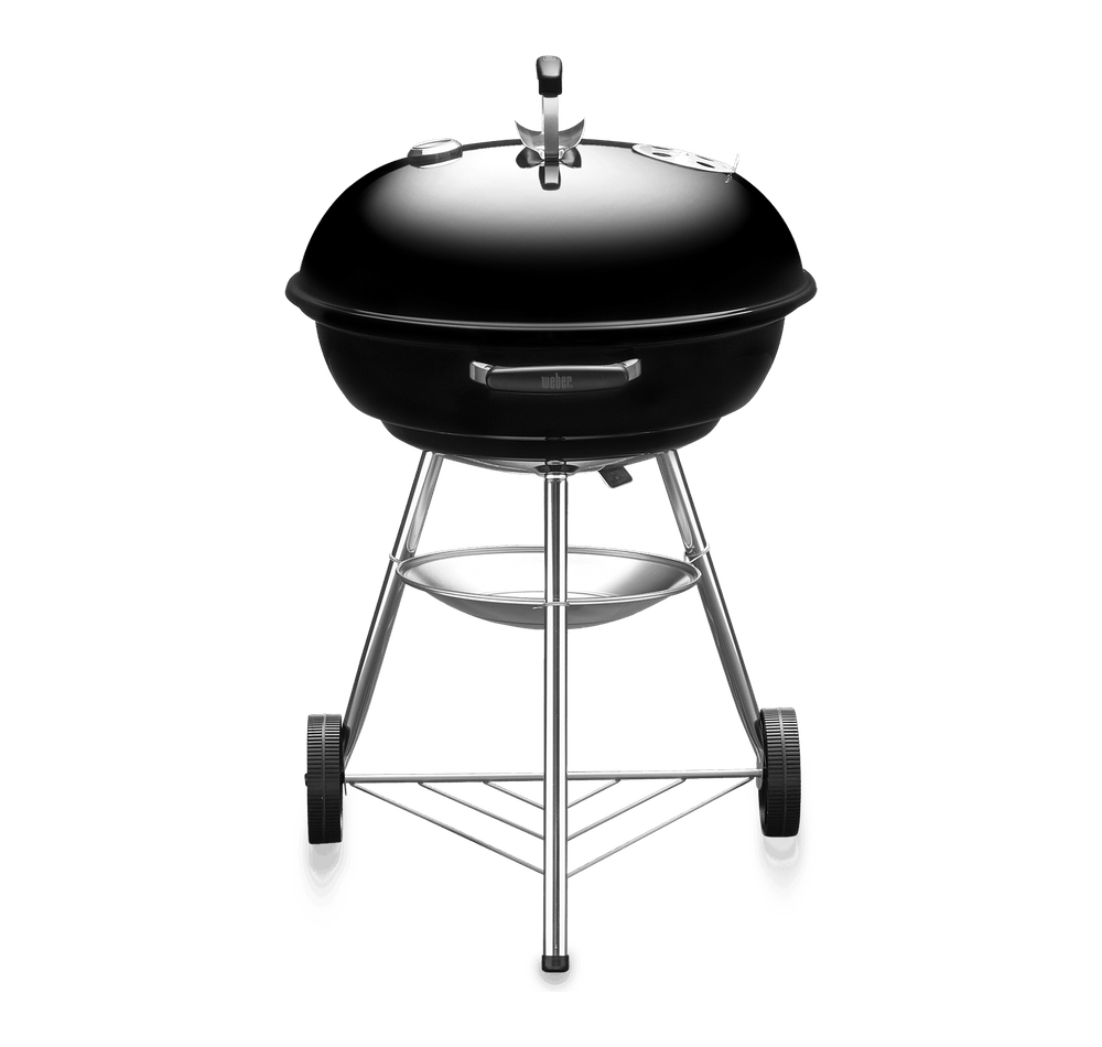 Compact Kettle Charcoal Grill 57cm with Thermometer View