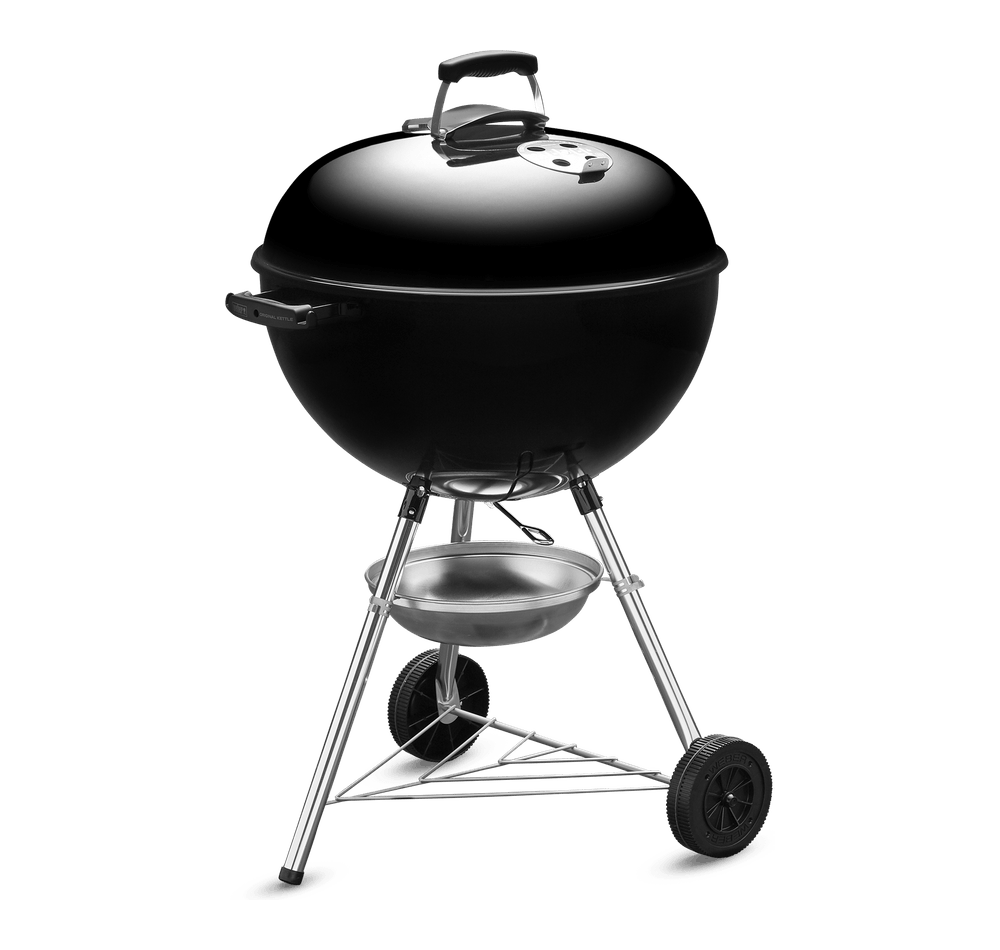 Original Kettle Charcoal Grill 57cm with Thermometer View