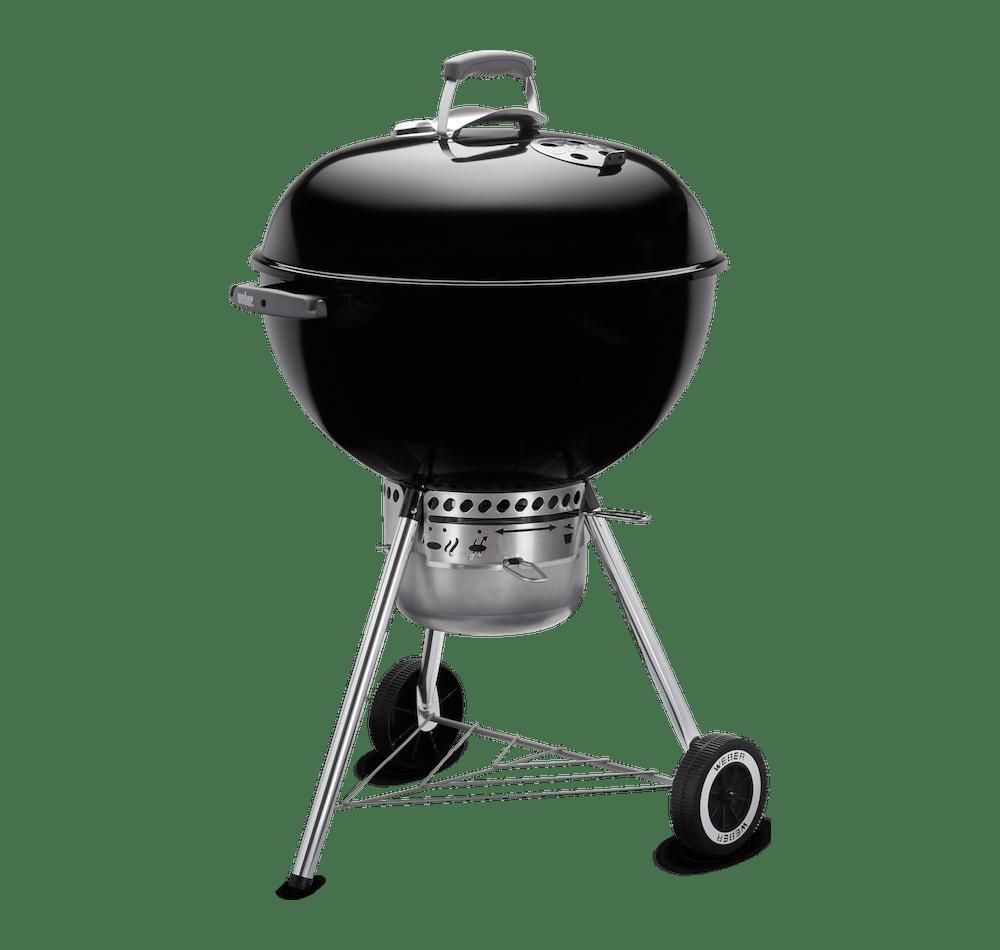 "Original Kettle Premium Charcoal Grill 22"" View"