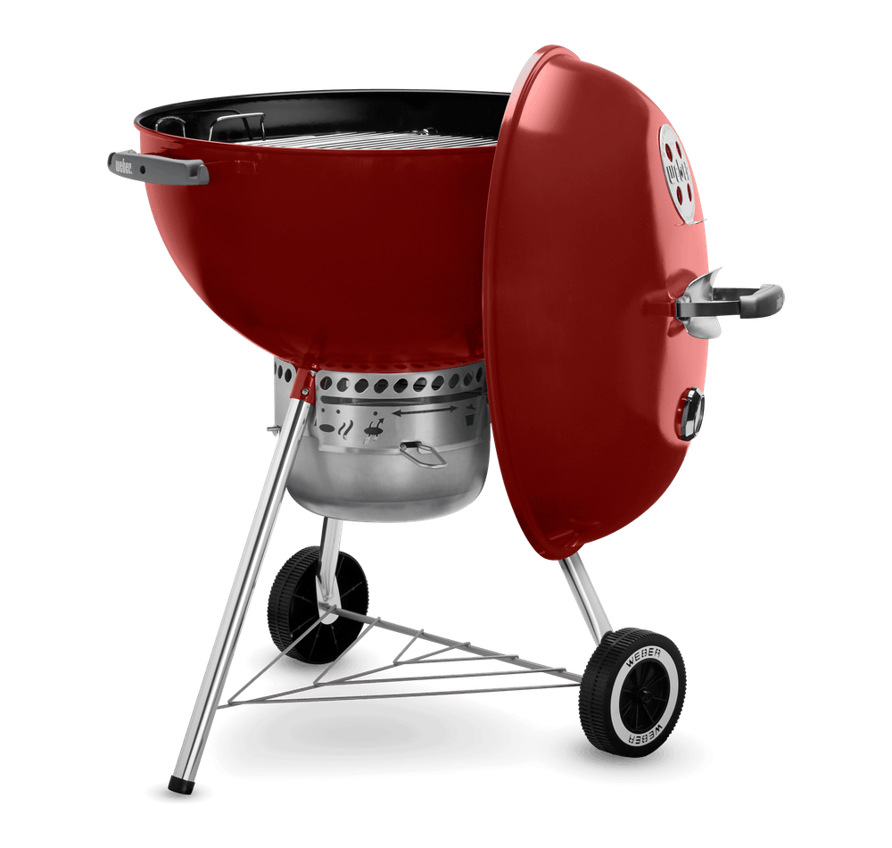 "Original Kettle Premium Charcoal Grill 22"" View"