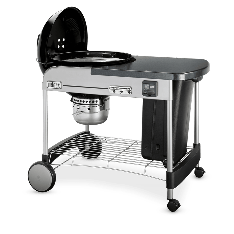 """Performer Premium Charcoal Grill 22"""" image number 3"""