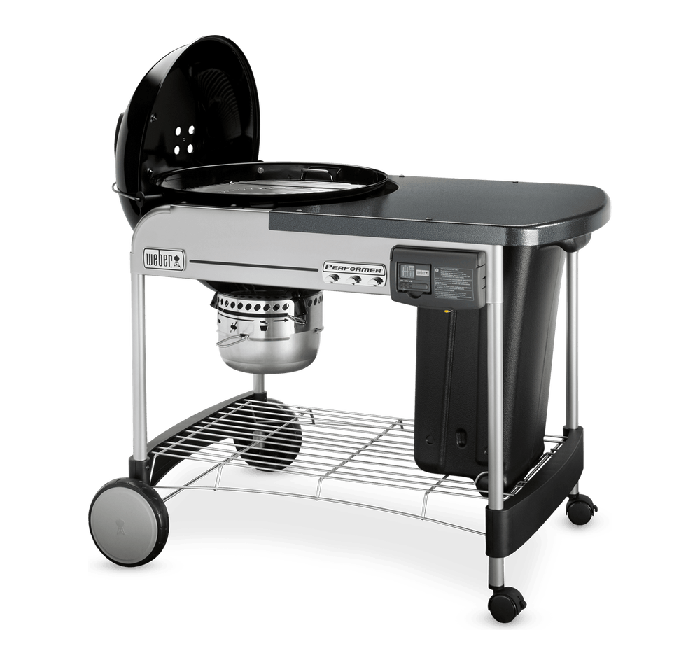 "Performer Deluxe Charcoal Grill 22"" image 5"