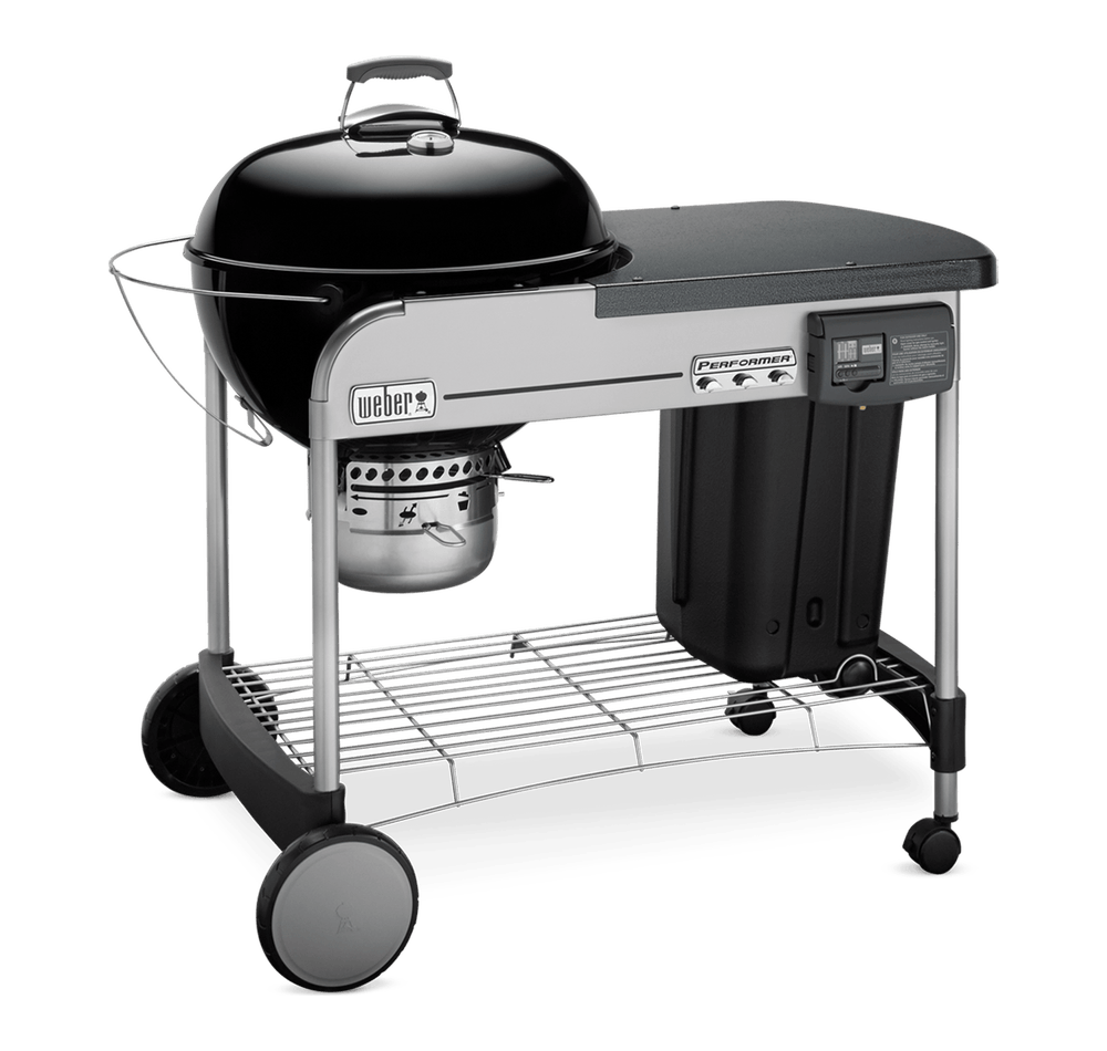 "Performer Deluxe Charcoal Grill 22"" image 4"