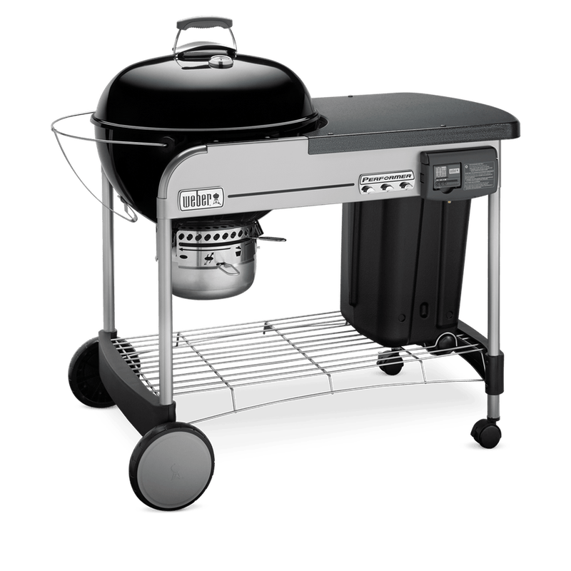 """Performer Deluxe Charcoal Grill 22"""" image number 2"""
