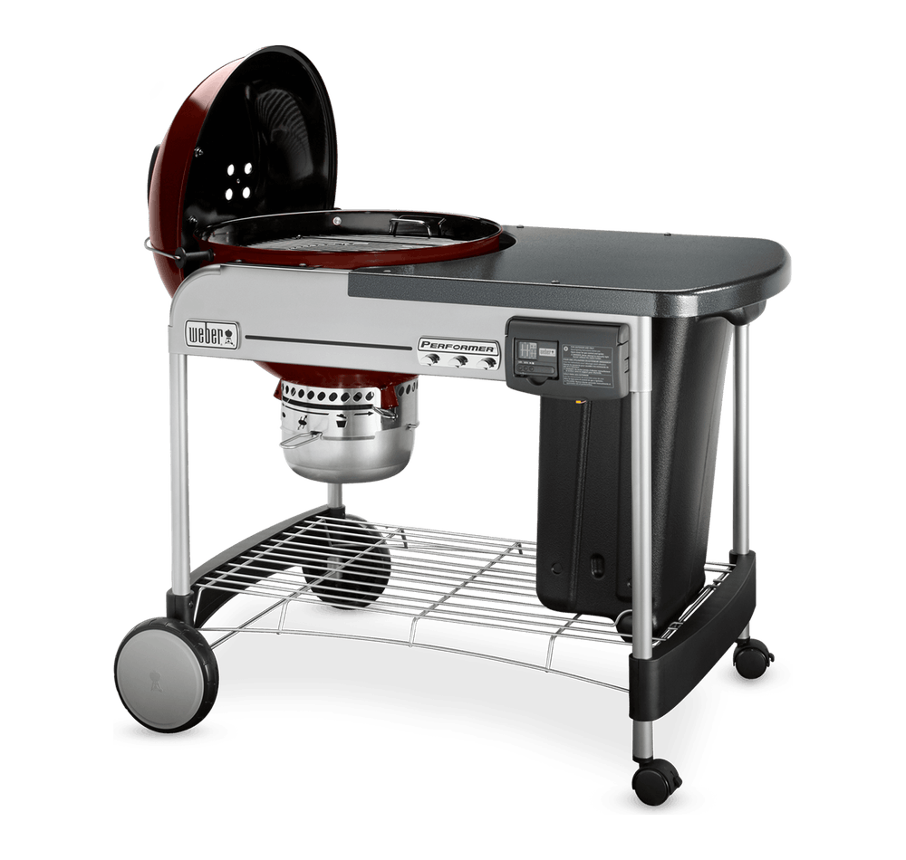 """Performer Deluxe Charcoal Grill 22"""" View"""