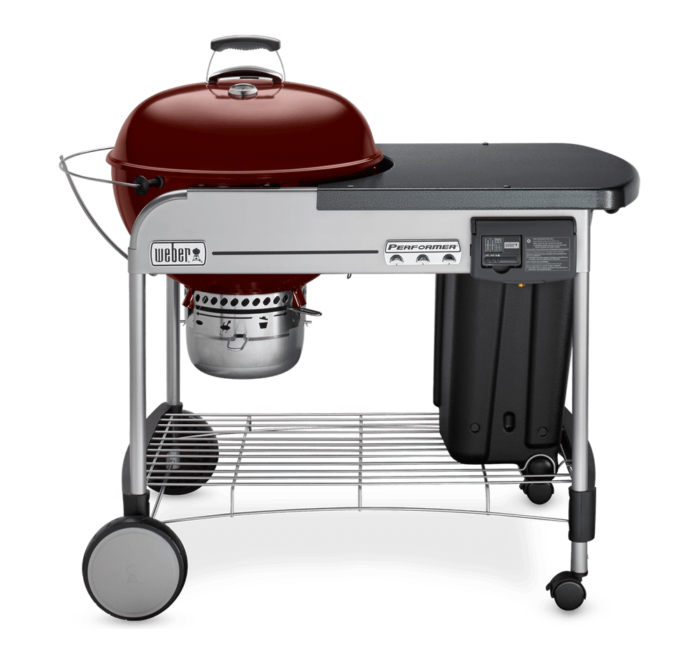 """Performer Deluxe Charcoal Grill 22"""" image 1"""