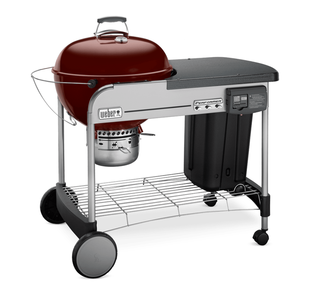 """Performer Deluxe Charcoal Grill 22"""" image 3"""