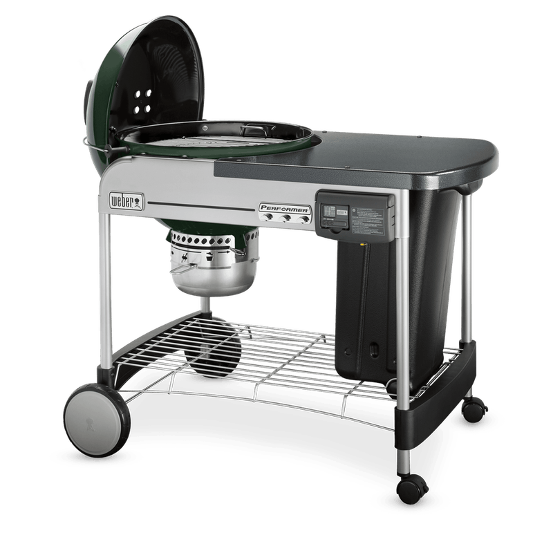 """Performer Deluxe Charcoal Grill 22"""" image number 3"""