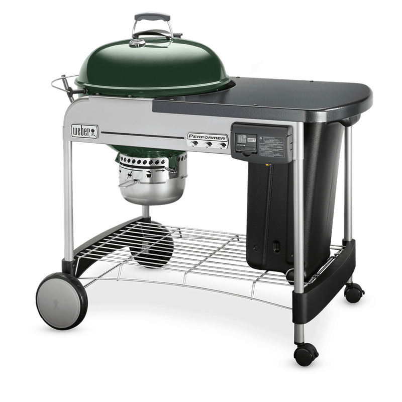 "Performer Deluxe Charcoal Grill 22"" image number 1"