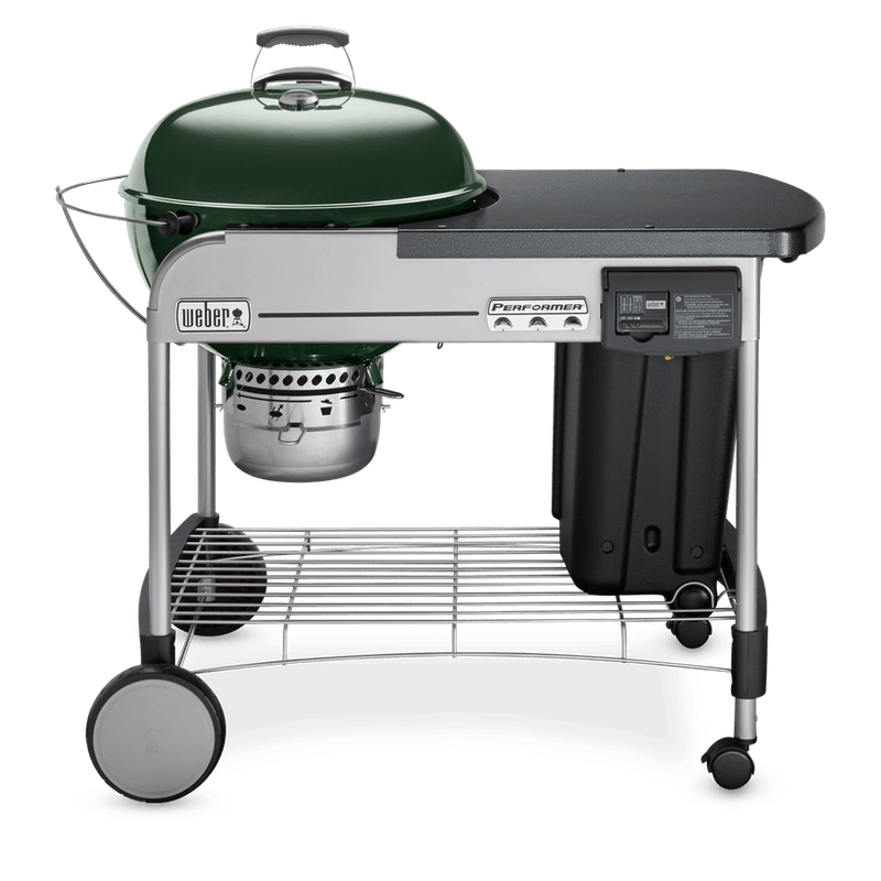 "Performer Deluxe Charcoal Grill 22"" image number 0"