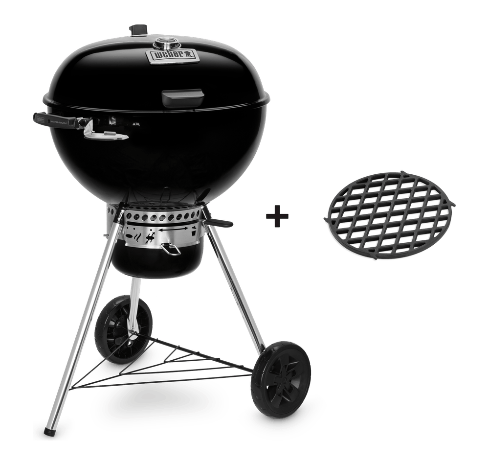 Master-Touch GBS Premium E-5775 – Holzkohlegrill Ø 57cm View