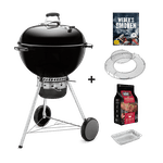 Master-Touch GBS Special Edition Pro – Holzkohlegrill + Räucher-Set