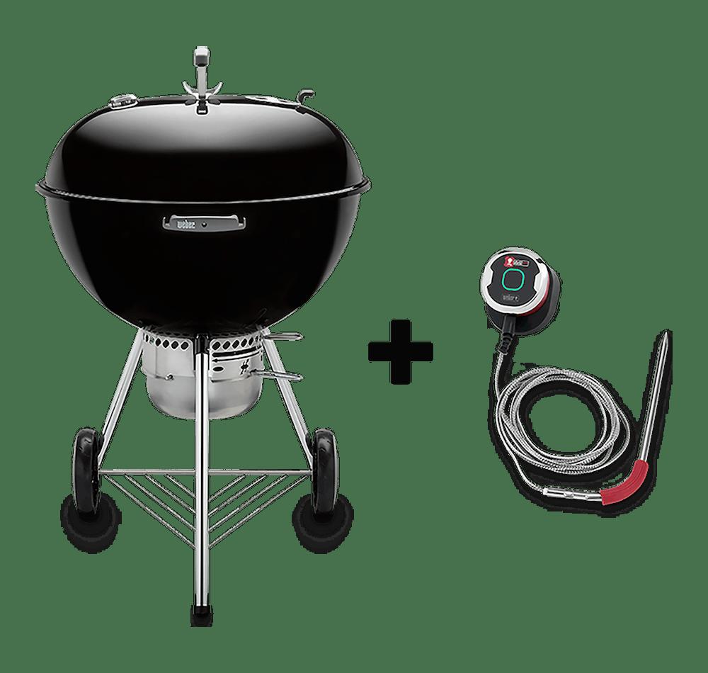 """Asador de carbón Original Kettle Premium, 26"""" + iGrill Mini View"""