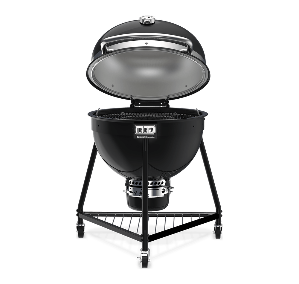Summit® Kamado E6 Holzkohlegrill View