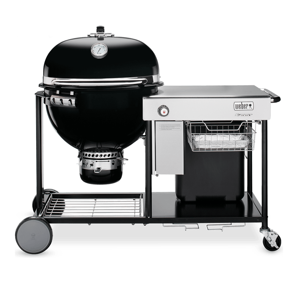 "Summit® Charcoal Grilling Center 24"" View"