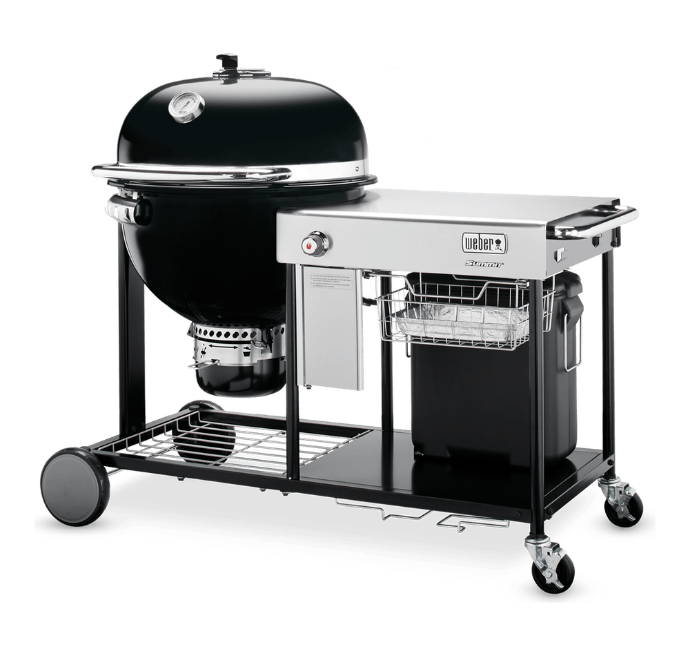 Summit® Charcoal Grilling Centre 61cm View