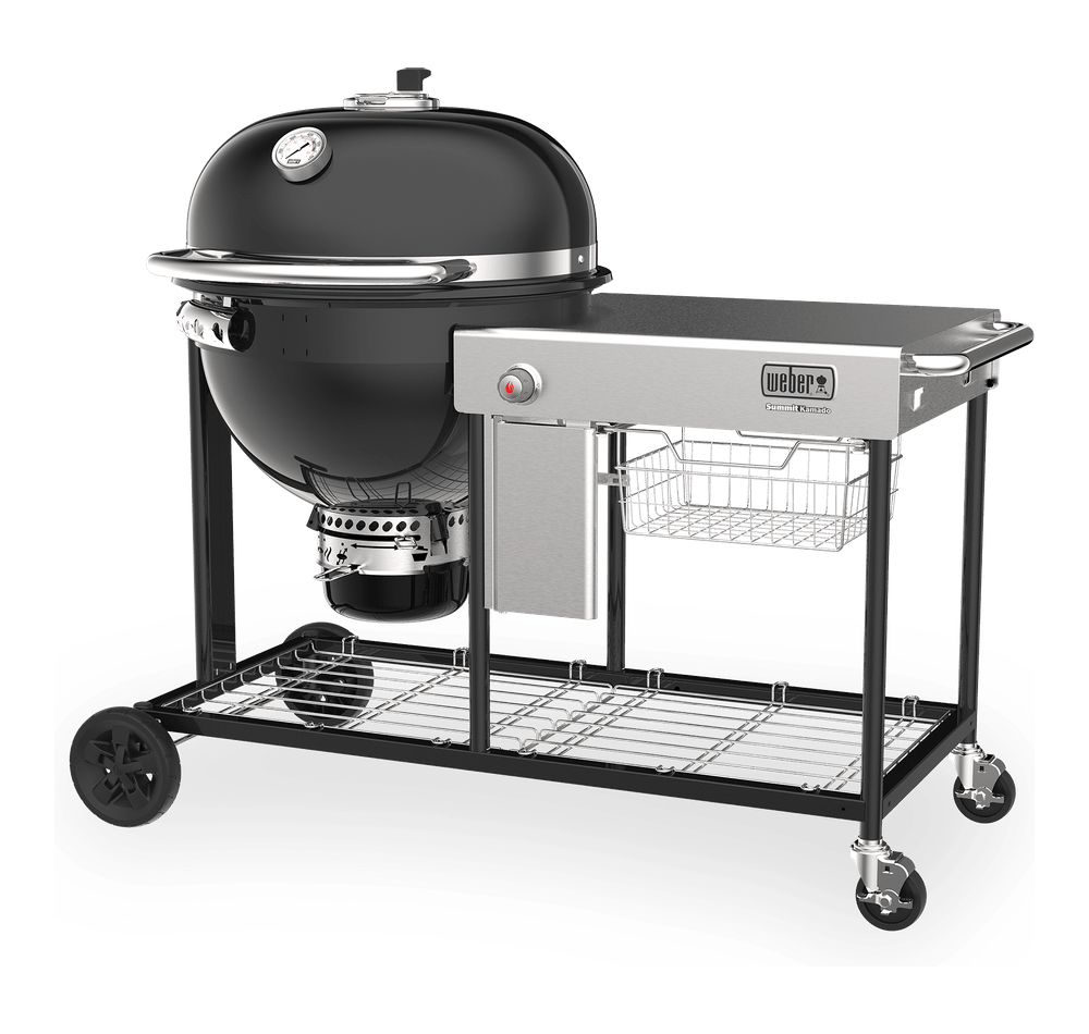 Summit® Kamado S6 Charcoal Grill Center View