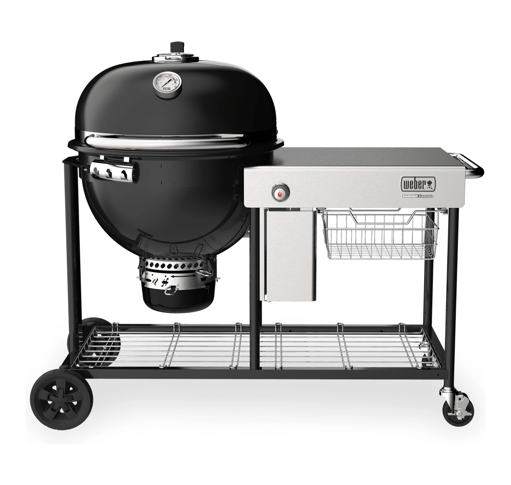 Summit® Kamado S6 Holzkohlegrill-Center View