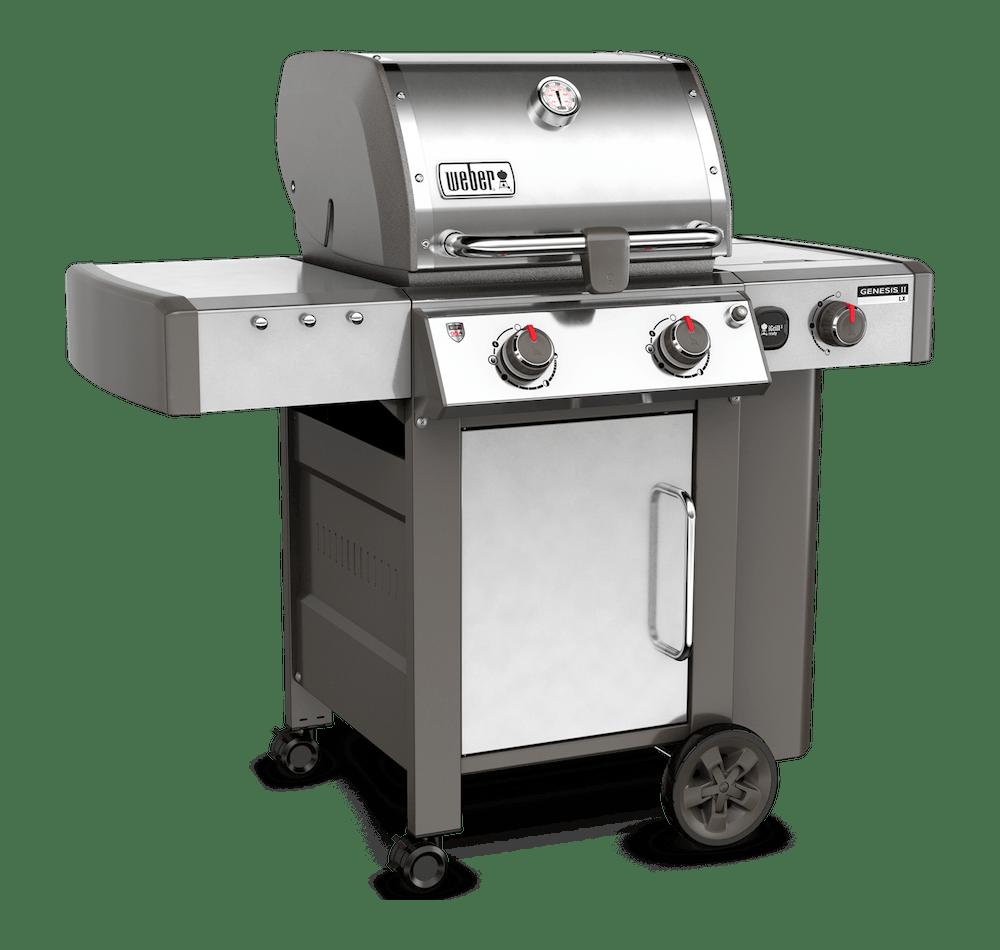 Genesis® II LX S-240 GBS Gasbarbecue View