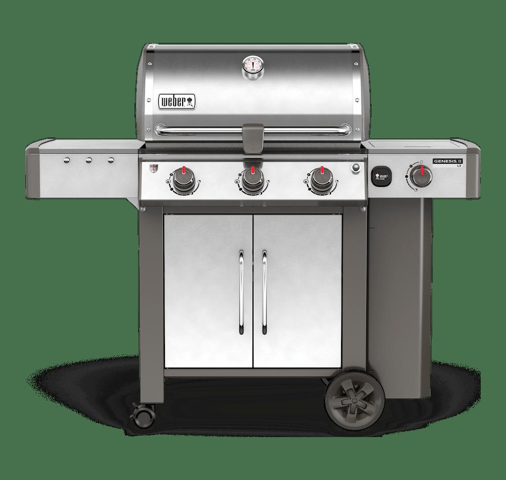 Genesis® II LX S-340 GBS Gasbarbecue View
