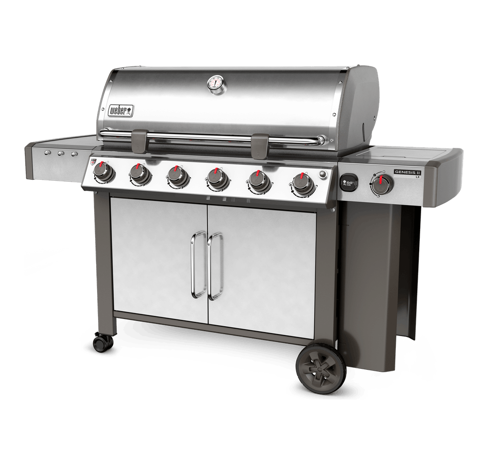 Barbecue a gas Genesis® II LX S-640 GBS View
