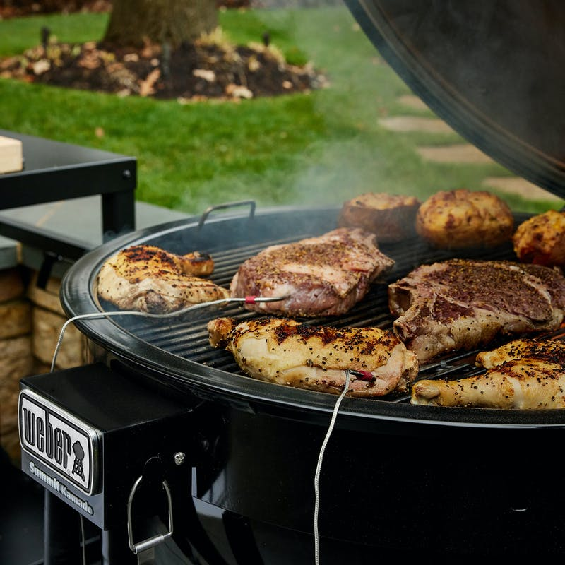 Summit® Kamado E6 Charcoal Grill image number 5