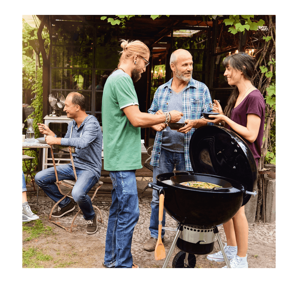Master-Touch GBS E-5755 – Holzkohlegrill Ø 57cm View
