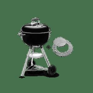 weber bar b kettle gbs charcoal black 47cm