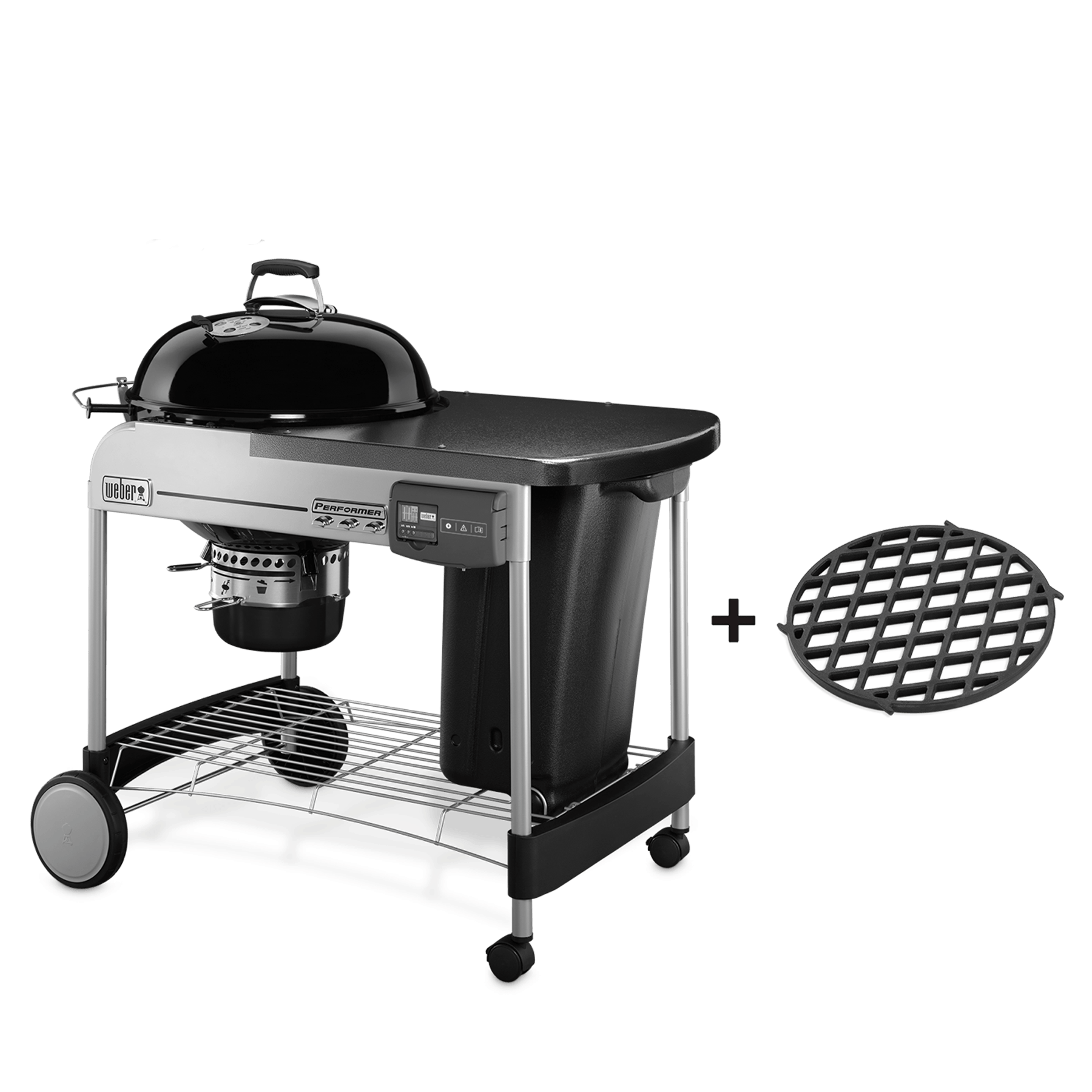 Barbecue à charbon Performer Deluxe Gourmet GBS Ø57 cm