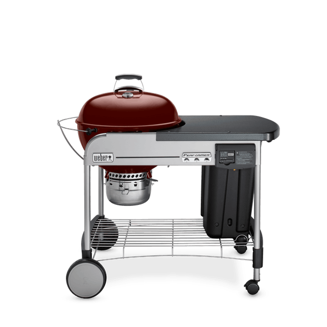 """Performer Deluxe Charcoal Grill 22"""""""