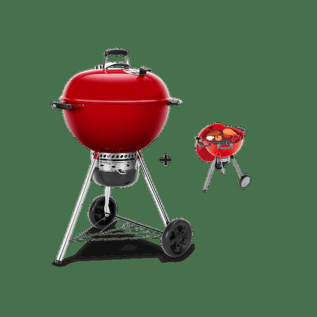 Barbecue à charbon Master Touch GBS édition limitée Ø57cm + Jouet Weber® Original Kettle Barbecue