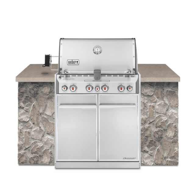 Asador de gas empotrable Summit® S-460