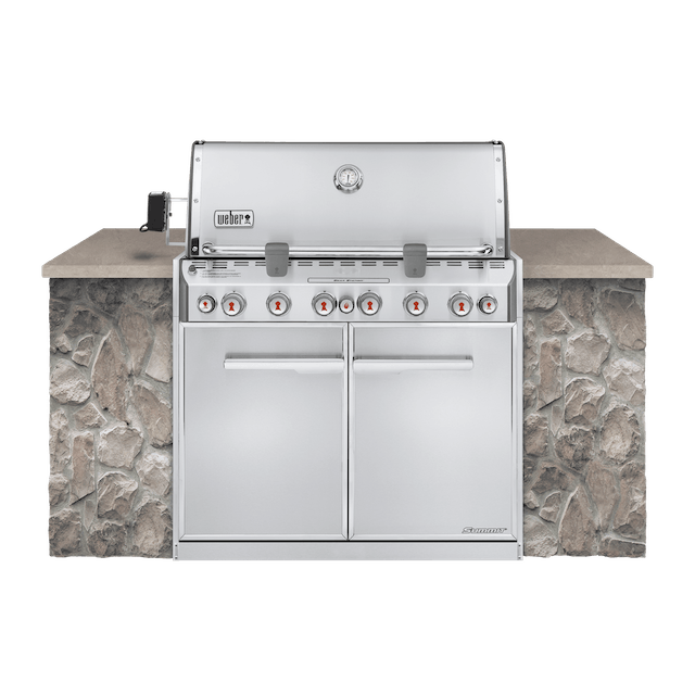 Asador de gas empotrable Summit® S-660