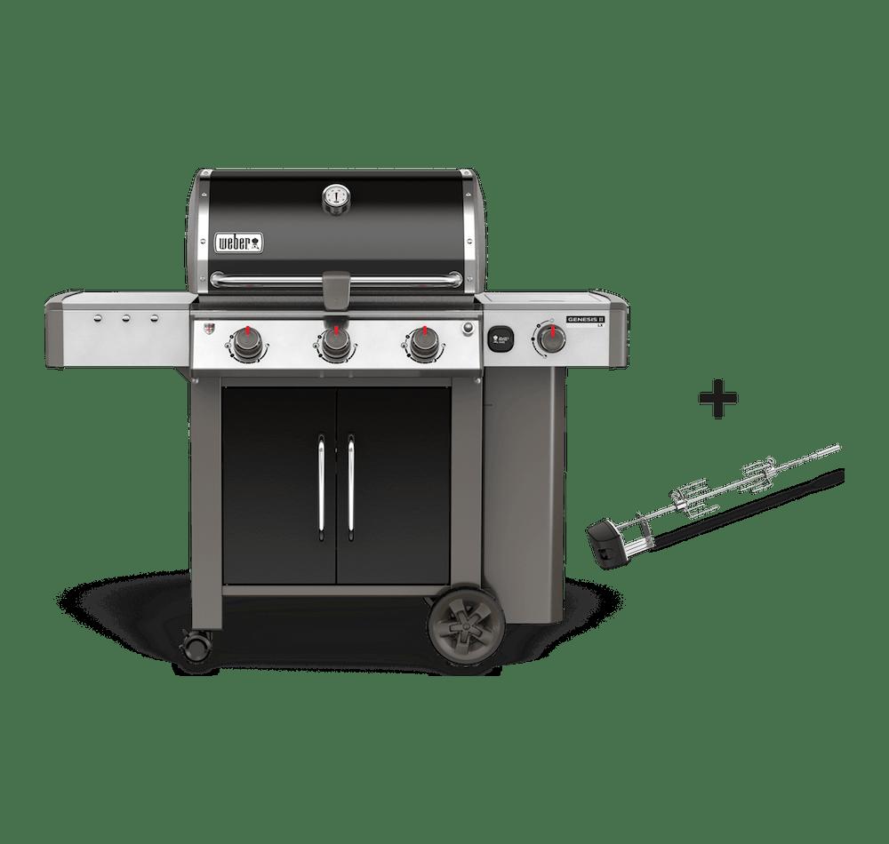 Genesis® II LX E-340 GBS Gasbarbecue View