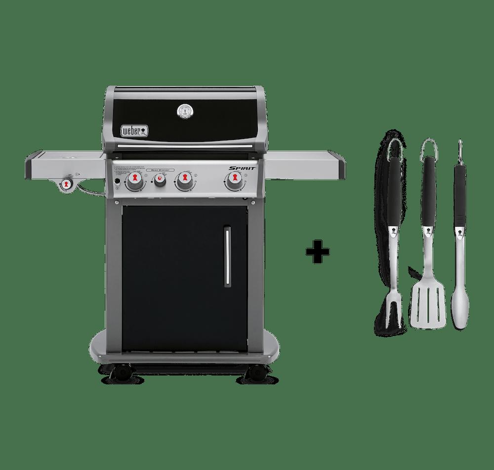 Asador de Gas Spirit E-330 + Set de herramientas Premium image 1