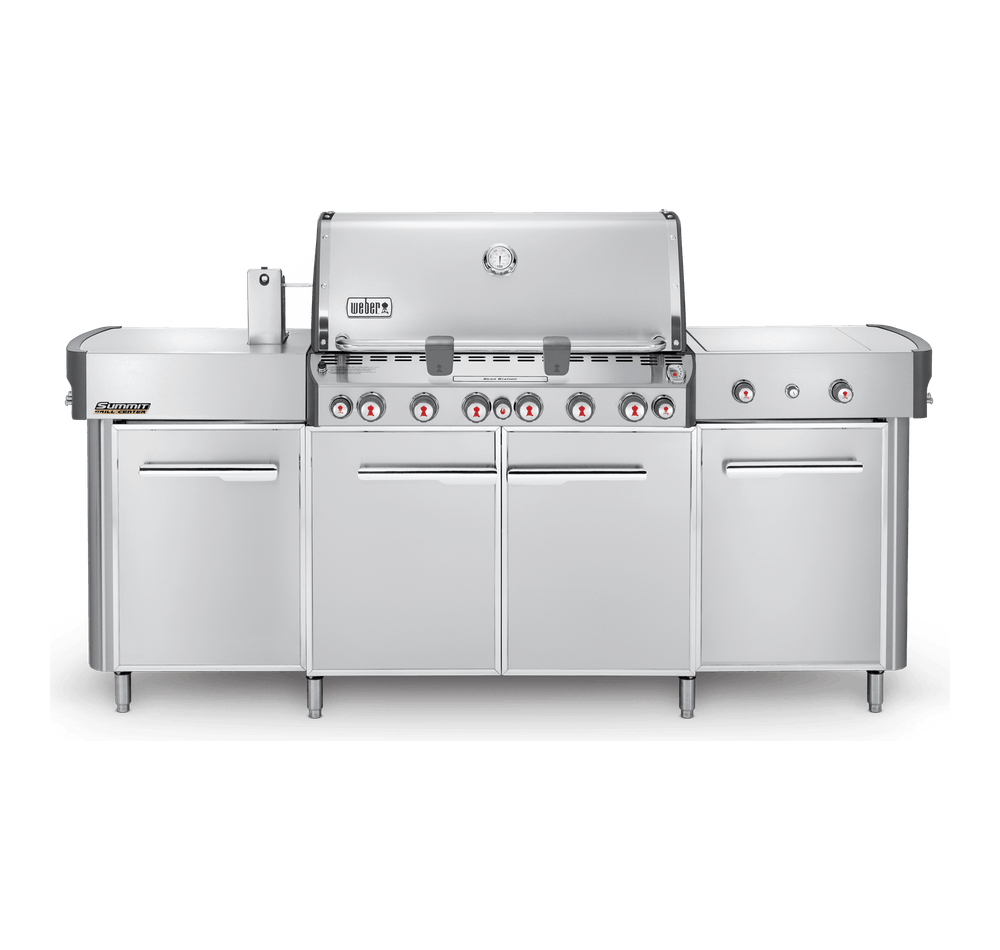 Summit® Grill Centre (Natural Gas) View