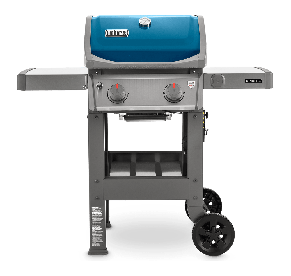Spirit II E-210 Gas Grill Front View