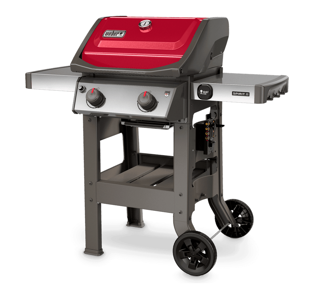 left view of Spirit II E-210 gas grill