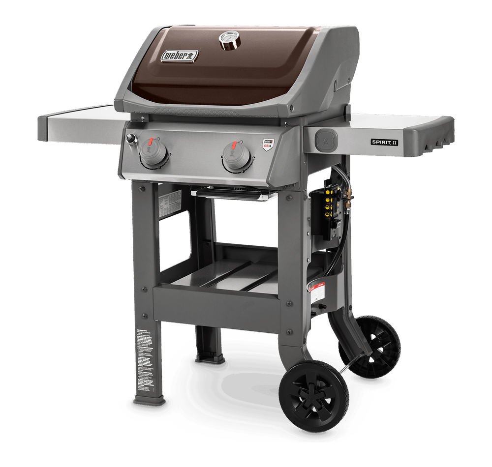 Spirit II E-210 Gas Grill LefT view