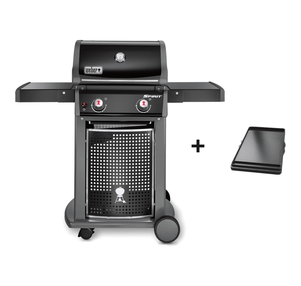 Pack Barbecue à gaz Weber Spirit Original E 210 Black +