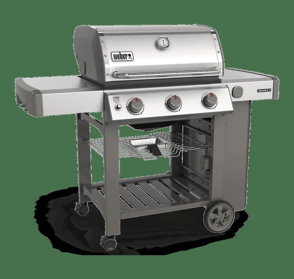 Plynový gril Genesis® II S-310 GBS View
