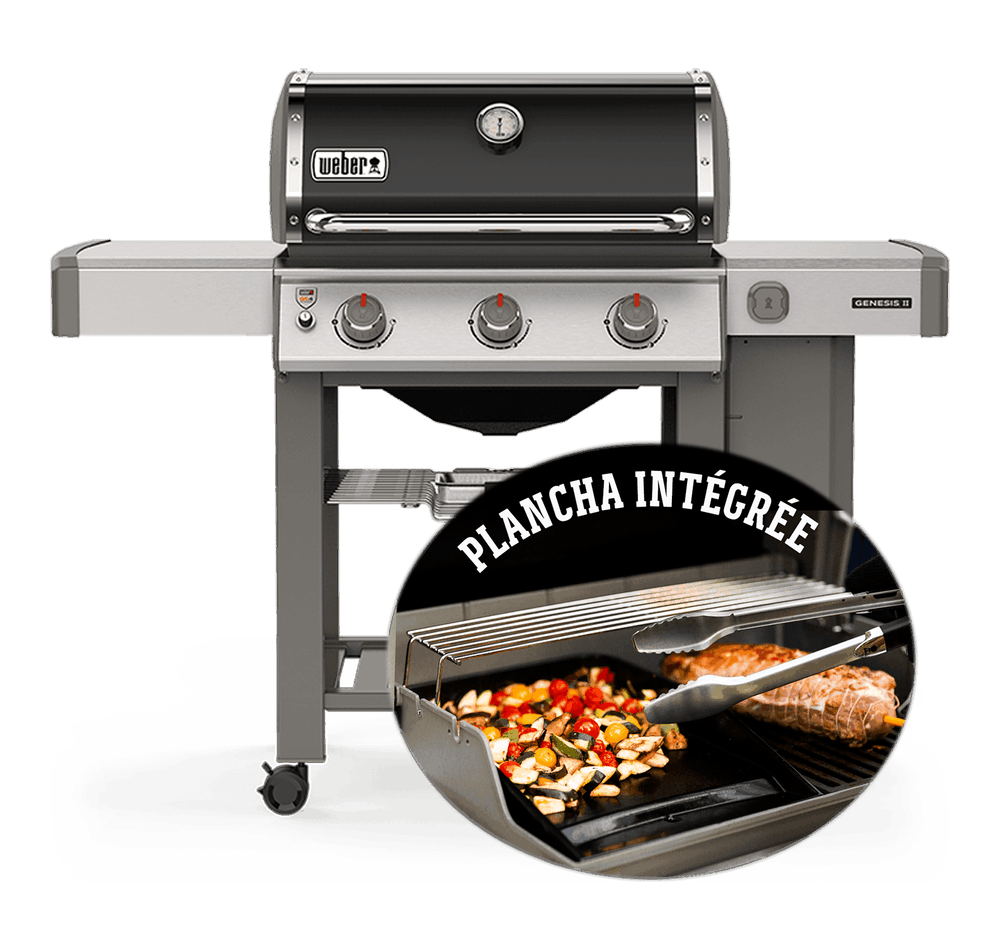 Barbecue à gaz Genesis®II E-310 Plancha View
