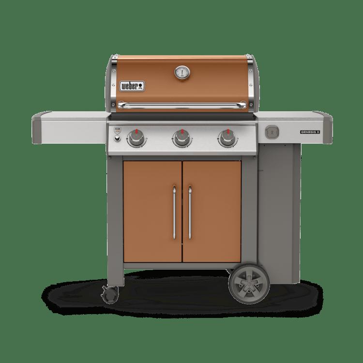 Genesis Ii E 315 Gas Grill Genesis Ii Series Gas Grills Weber Grills
