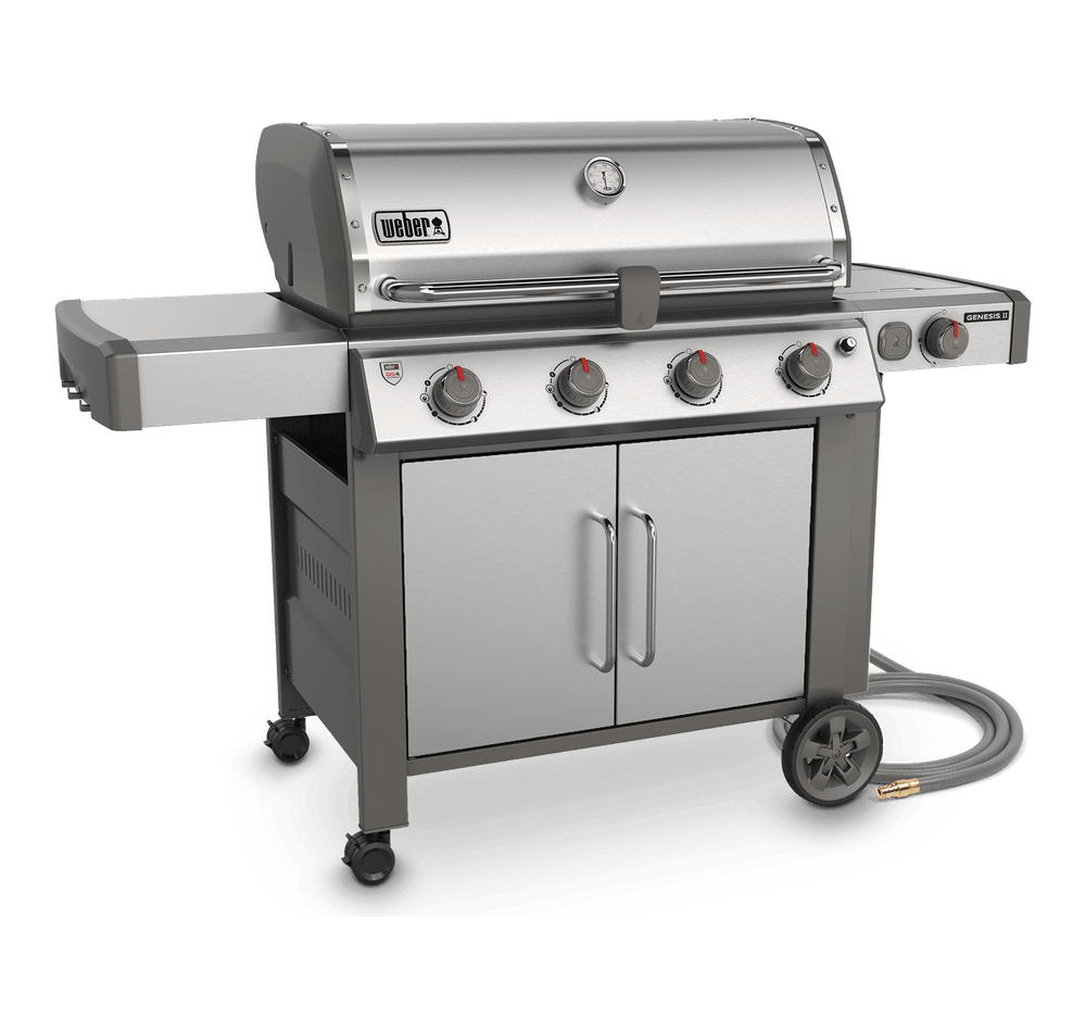 Genesis® II S-455 Gas Barbecue (Natural Gas) View
